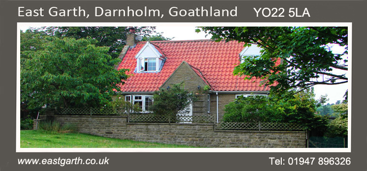Eastgarth holiday cottage in Goathland